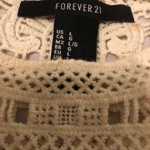Forever 21 Tops - 3 for $12 Forever 21 Crochet Cropped Tank